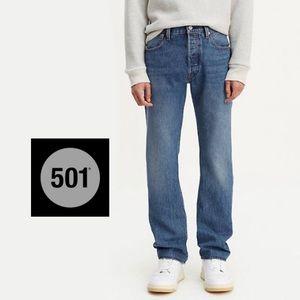 Levi's Original 501 Premium Button Fly Denim Jeans